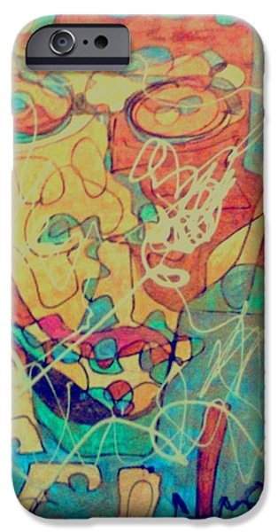 Obama iPhone Cases - Funky Fresh iPhone Case by Rick Burgunder
