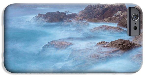 Fury iPhone Cases - Furious Sea iPhone Case by Jonathan Nguyen