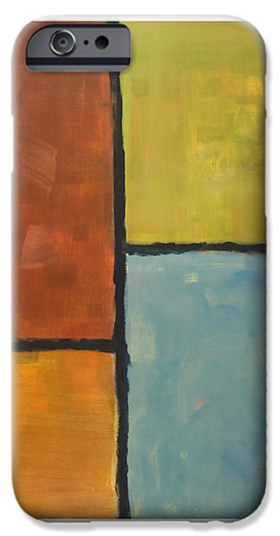 Abstract Digital Paintings iPhone Cases - Furthest Window iPhone Case by Craig Tinder