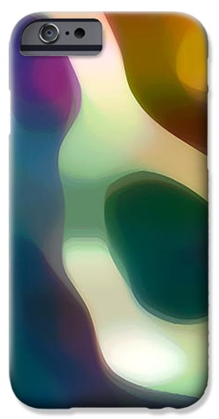 Fury Digital Art iPhone Cases - Fury Panoramic Vertical 2 iPhone Case by Amy Vangsgard