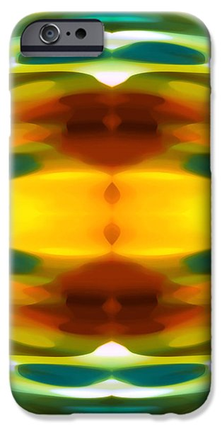 Fury Pattern 5 iPhone Case by Amy Vangsgard