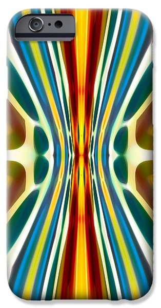 Fury Pattern 6 iPhone Case by Amy Vangsgard
