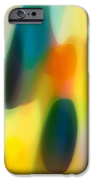 Fury Rain 1 iPhone Case by Amy Vangsgard