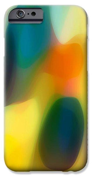 Fury Rain 2 iPhone Case by Amy Vangsgard