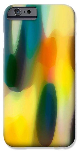 Fury Rain 4 iPhone Case by Amy Vangsgard
