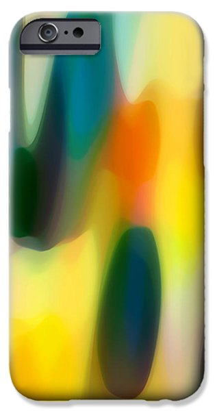 Fury Digital Art iPhone Cases - Fury Rain 5 iPhone Case by Amy Vangsgard