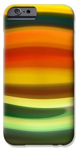 Fury Digital Art iPhone Cases - Fury Sea 6 iPhone Case by Amy Vangsgard