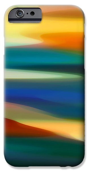 Fury Seascape 4 iPhone Case by Amy Vangsgard