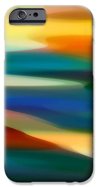 Fury Seascape 5 iPhone Case by Amy Vangsgard