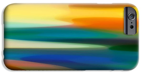 Fury iPhone Cases - Fury Seascape II iPhone Case by Amy Vangsgard