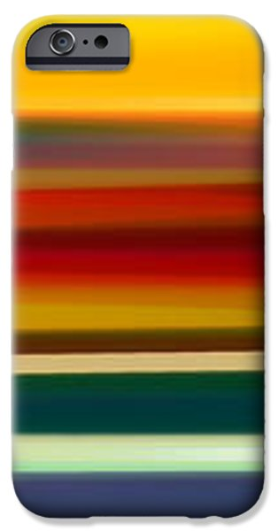 Fury Seascape Panoramic 2 iPhone Case by Amy Vangsgard