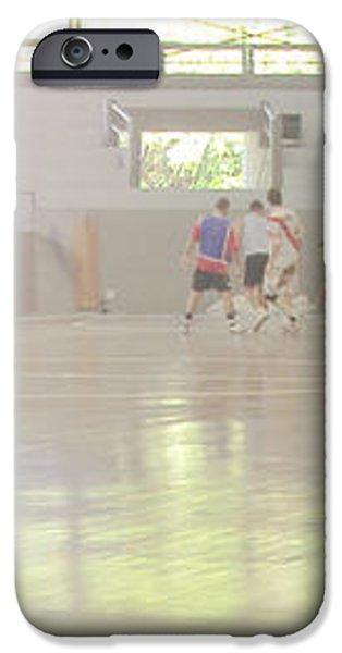 Futsal - Football court. iPhone Case by Rodrigo Cesar