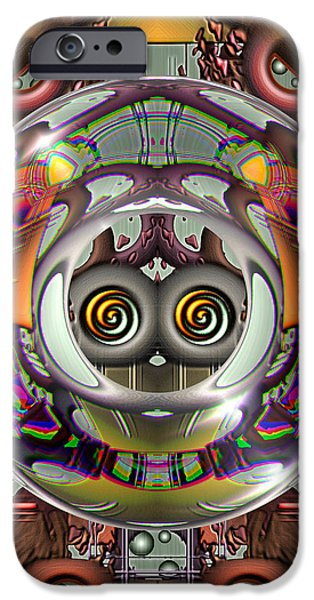 Future Retro iPhone Case by Wendy J St Christopher