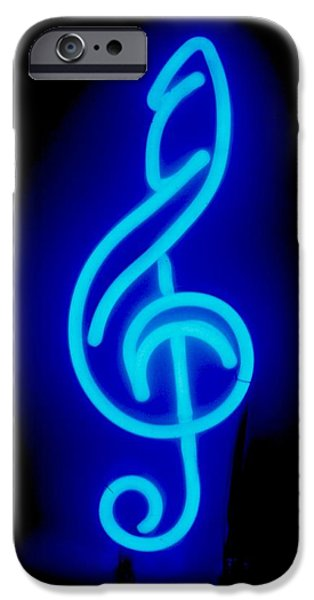 Celebrities Sculptures iPhone Cases - G Clef iPhone Case by Pacifico Palumbo