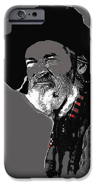 Gabby Hayes #3 iPhone Case by David Lee Guss