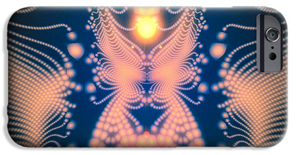 Gaia Digital iPhone Cases - Gaia 1 iPhone Case by Layne Adams