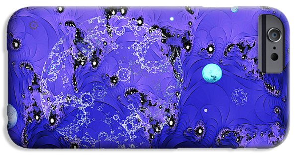 Business Digital Art iPhone Cases - Galaxies iPhone Case by Sarah Loft
