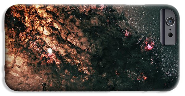 Constellations iPhone Cases - Galaxy Centaurus A iPhone Case by The  Vault - Jennifer Rondinelli Reilly