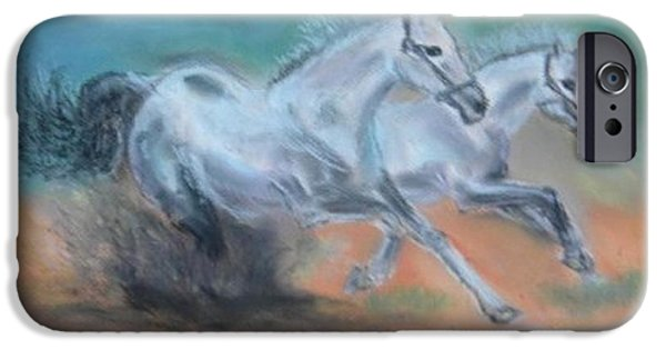 Buy Pastels iPhone Cases - Gallop iPhone Case by Igor Kotnik