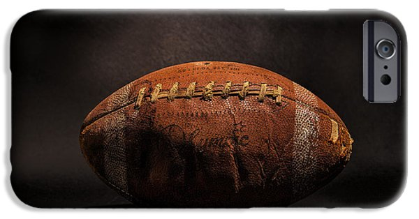 Sports iPhone Cases - Game Ball iPhone Case by Peter Tellone