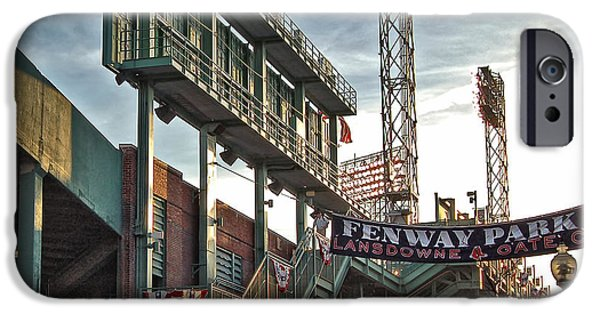 Boston Red Sox iPhone Cases - Game Day - Fenway Park iPhone Case by Joann Vitali