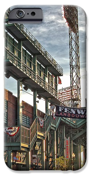 Game Day - Fenway Park iPhone Case by Joann Vitali