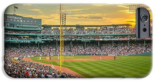 Recently Sold -  - Fenway Park iPhone Cases - Fenway Park iPhone Case by Mike Ste Marie