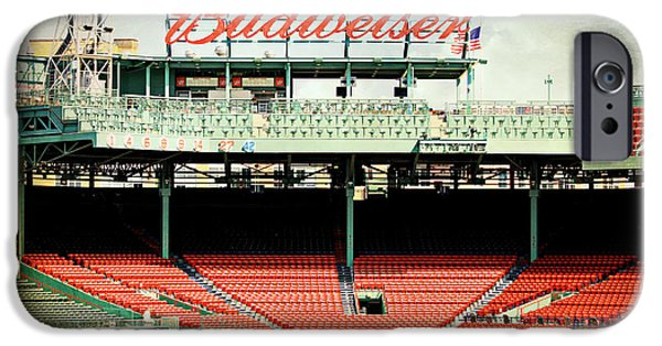 Boston Red Sox iPhone Cases - Gameday Ready at Fenway iPhone Case by Stephen Stookey