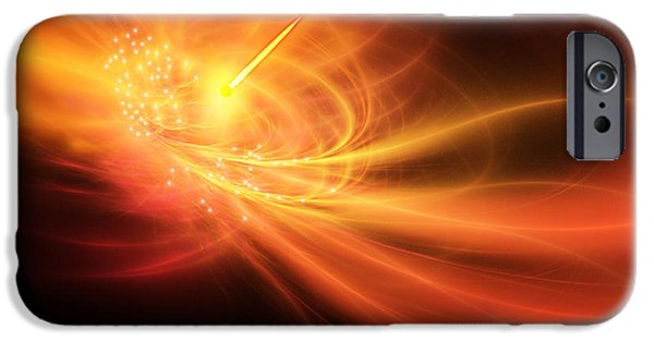 Gamma Ray Burst iPhone Cases - Gamma Ray Burst iPhone Case by Corey Ford