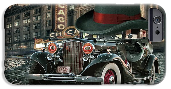 Original Mixed Media iPhone Cases - Don Cadillacchio iPhone Case by Marian Voicu