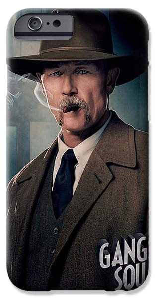 Crime Drama Movie iPhone Cases - Gangster Squad Patrick iPhone Case by Movie Poster Prints
