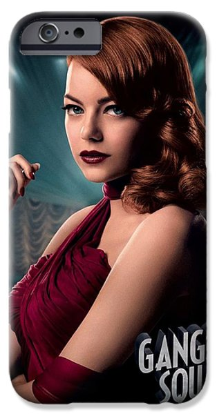 Crime Drama Movie iPhone Cases - Gangster Squad  Stone iPhone Case by Movie Poster Prints