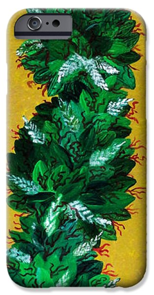 Dunk iPhone Cases - Ganja iPhone Case by Teddy Maritopia