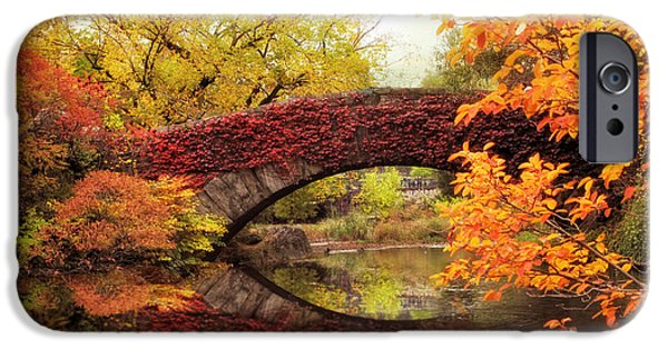 Autumn Digital iPhone Cases - Gapstow Glory iPhone Case by Jessica Jenney
