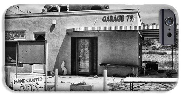 Asphalt iPhone Cases - Garage 79 iPhone Case by Ron Regalado