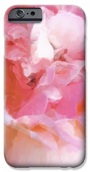 Dance Ballet Roses iPhone Cases - Garden Ballet iPhone Case by Gwyn Newcombe