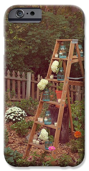 Garden Decorations iPhone Case by Kay Pickens