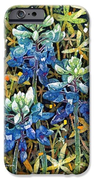 Garden iPhone Cases - Garden Jewels II iPhone Case by Hailey E Herrera