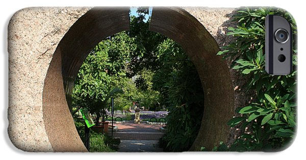 Smithsonian iPhone Cases - Garden Keyhole iPhone Case by Linda Mans