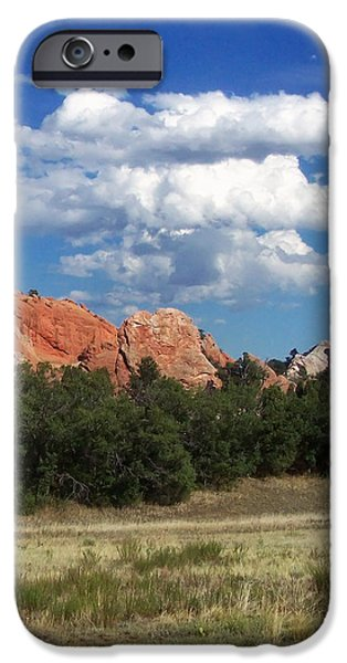 Landscape Posters iPhone Cases - Garden Of The Gods 2 iPhone Case by Chris Flees