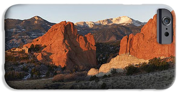 Bates iPhone Cases - Garden of the Gods iPhone Case by Aaron Spong