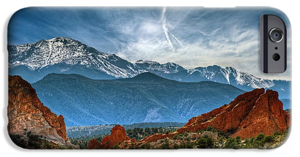 Garden Images iPhone Cases - Garden of the Gods iPhone Case by Brandon Alms