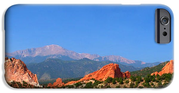 Garden Images iPhone Cases - Garden Of The Gods iPhone Case by Brian Harig