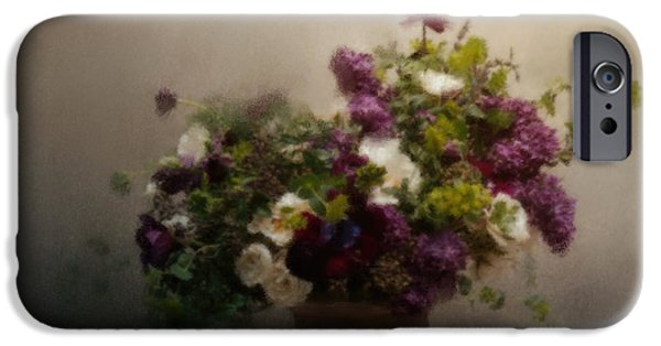 Florals Pastels iPhone Cases - Garden Treasures iPhone Case by Jai Johnson