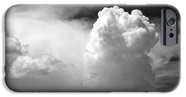 Grey Photographs iPhone Cases - Garfield in the skies iPhone Case by Christine Till
