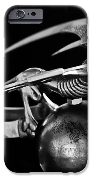 Gargoyle Hood Ornament 2 iPhone Case by Jill Reger