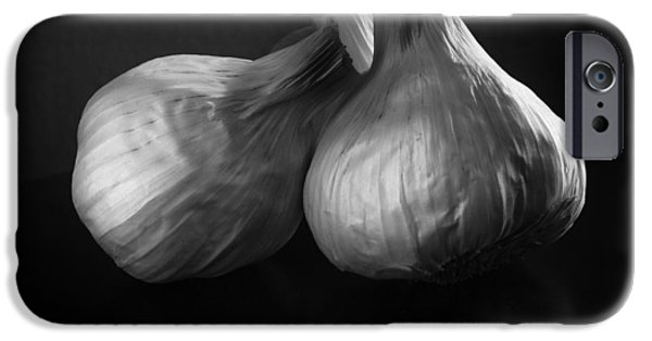 Olympus iPhone Cases - Garlic iPhone Case by Jesse Castellano