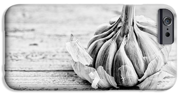 Raw iPhone Cases - Garlic iPhone Case by Nailia Schwarz