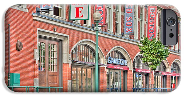 Fenway Park iPhone Cases - Gate E iPhone Case by Clarence Holmes