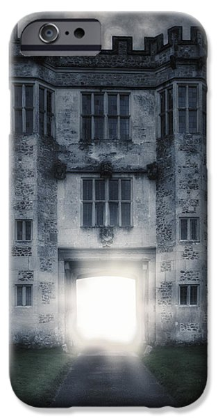 Creepy iPhone Cases - Gate iPhone Case by Joana Kruse